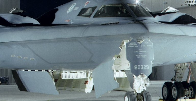 The B-2's AN/APQ-181 radar
